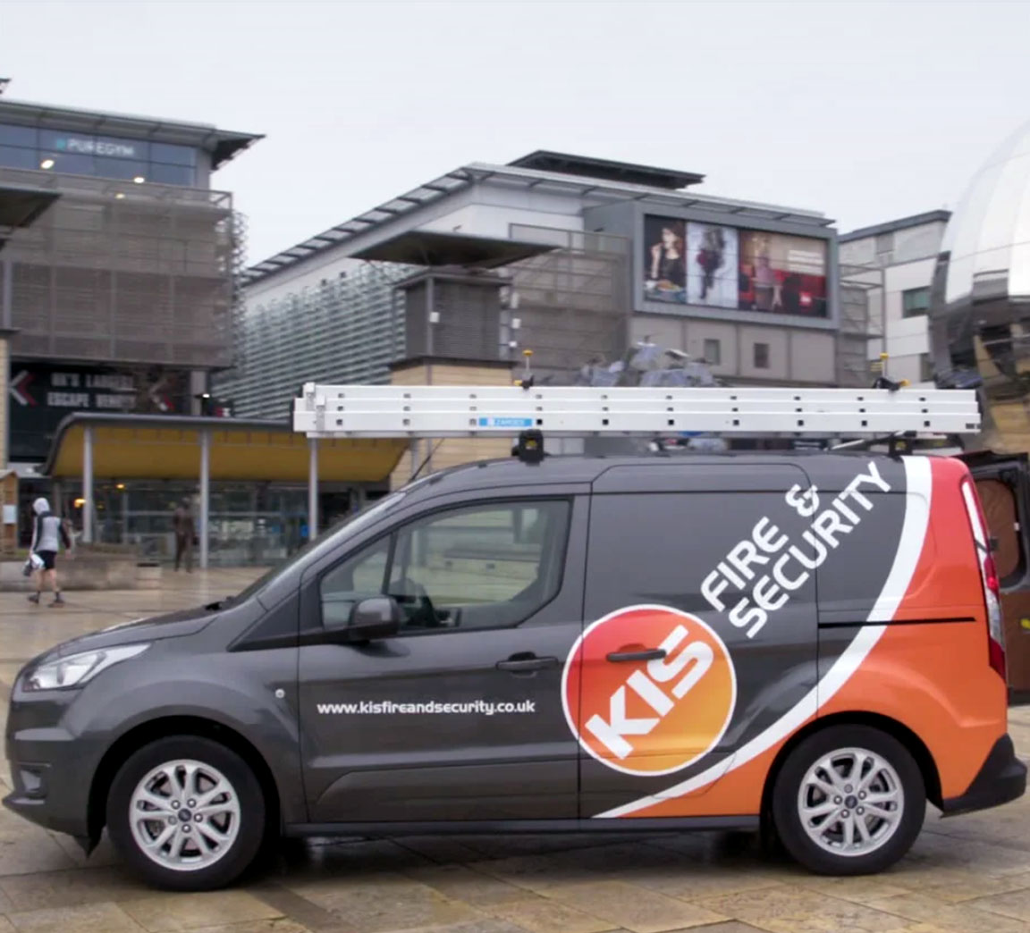 KIS Fire & Security van