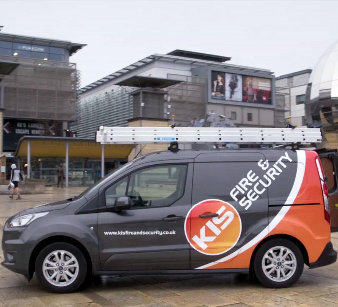 KIS Fire & Security van